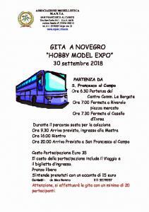 Gita a Novegro  30 Settembre 2018